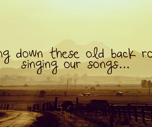 country, music, and quote image