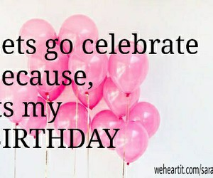 balloons, birthday, and celebrate image