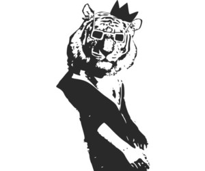 crown, king, and tiger image