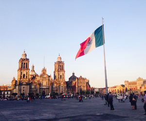 beautiful, mexico, and zocalo image