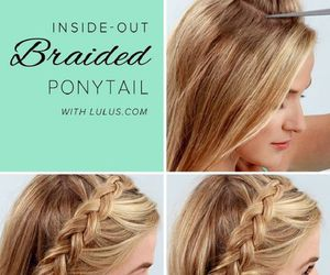beauty, braid, and french image