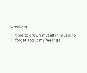 bands, songs, and feelings image