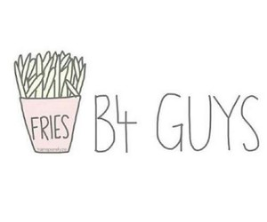 fries, guys, and food image