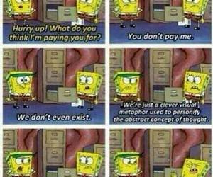 spongebob and so funny image