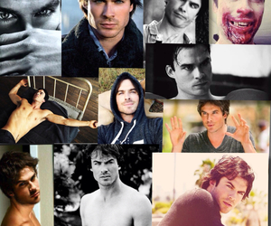 sexy, collage of bae, and Vampire Diaries image