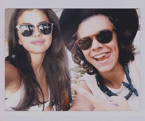 harlena, selena gomez, and Harry Styles image