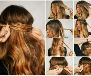 Easy, hairstyle, and girl image
