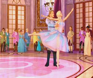 ballerina, ballet, and barbie image