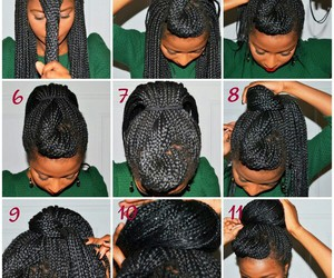braids, style, and tutorial image