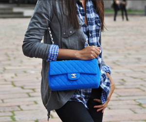 fashion, chanel, and blue image