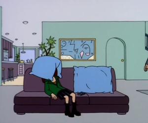 Daria, grunge, and cartoon image