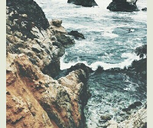 blue, rocky, and grunge image