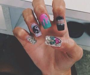 boho, hipster, and nails image