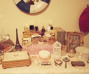paris, vintage, and perfume image