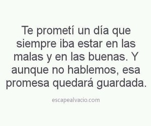 love, frases, and promise image