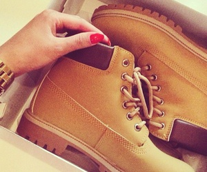 shoes, timberland, and style image