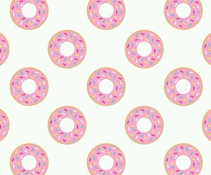 background, donuts, and food image