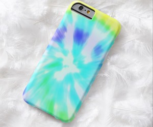 tie dye, case, and pretty image