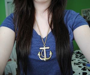 anchors and girl image
