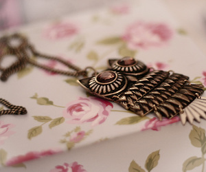 owl, fashion, and pink image