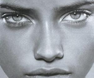 Adriana Lima, model, and eyes image