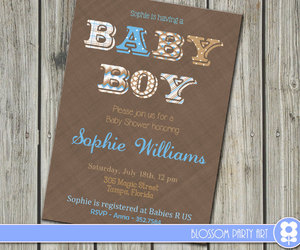 baby boy, diy, and light blue image