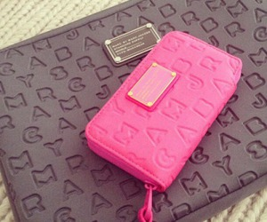 pink, marc jacobs, and bag image