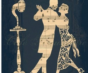 music, dance, and vintage image
