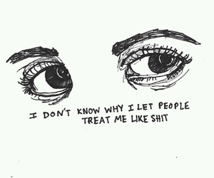 eyes, sad, and quotes image