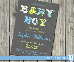 baby boy, printables, and grey image