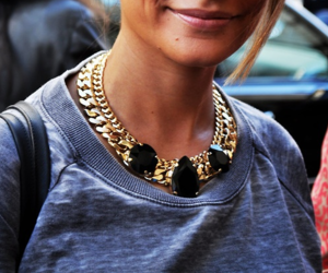 necklace, fashion, and outfit image