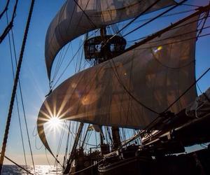 ship and sail image