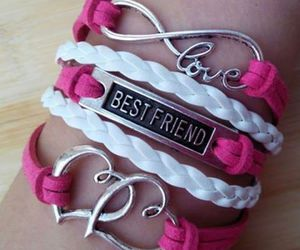 accessories, bracelet, and girly image