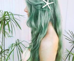 green, starfish, and nice image