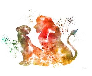 lion and simba image
