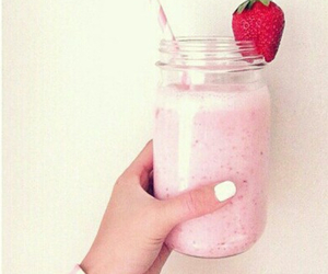 food, pink, and white image