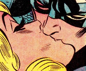comic, kiss, and pop art image