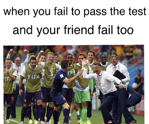 exam, football, and funny image