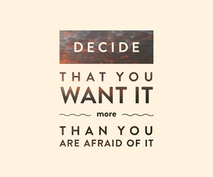 quotes, afraid, and want image