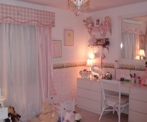 pink and room image