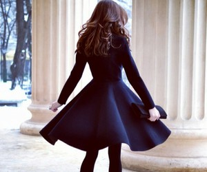 beautiful, fashion, and peplum image