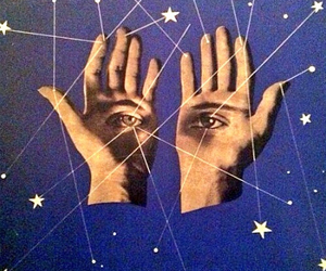 stars, eyes, and hands image