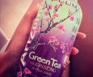 arizona, green tea, and drink image
