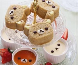 pudding and rilakkuma image