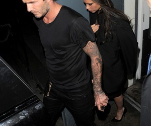 David Beckham and victoria beckham image