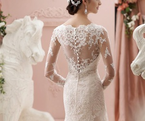 wedding, beautiful, and bridal image