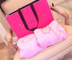 girl, pink, and juicy couture image