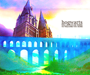 hogwarts and home image