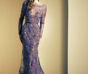 Couture, dress, and vestido image