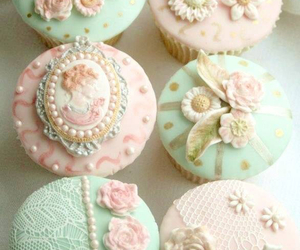 cupcake, sweet, and food image